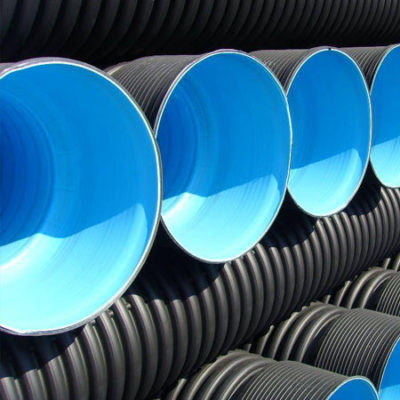 HDPE Double Wall Corrugated Pipe in india