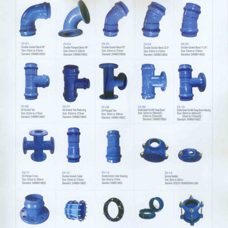 Ductile Iron Fittings in india