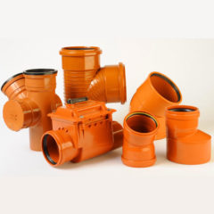 PVC Underground Drainage System & Foamcore Fittings in india