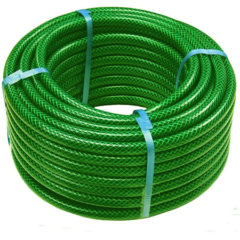 PVC Green Braided Pipes in india